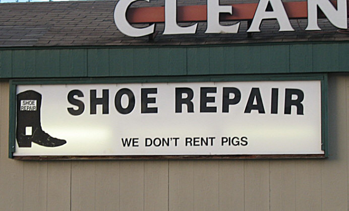 We Don't Rent Pigs